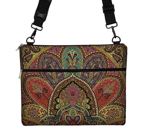 womens laptop bag sleeve case long strap by janinekingdesigns. Black Bedroom Furniture Sets. Home Design Ideas