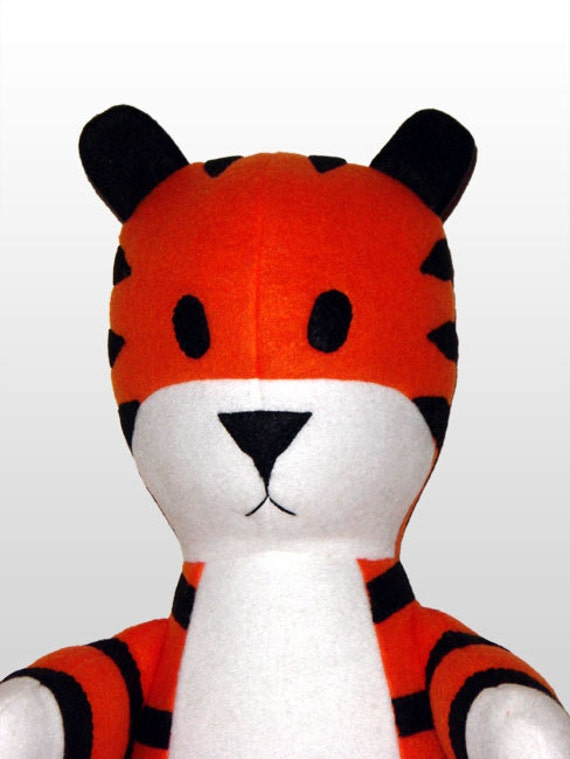 Nobbes, not Hobbes, tiger buddy plush doll limited edition