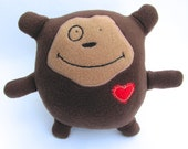nigel - the monkey weirdo - plush stuffed toy
