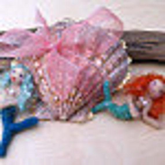 Special order duo, mermaid trinkets for Priscilla