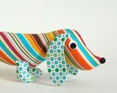 Plush Wiener Dog Soft Toy Dachshund RIPLEY