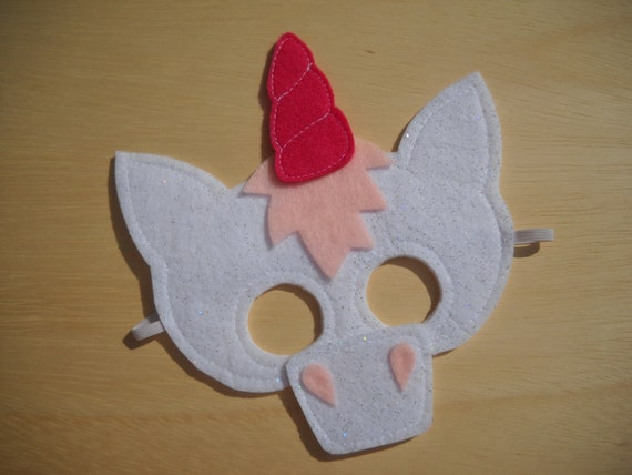 Child Size Unicorn Mask