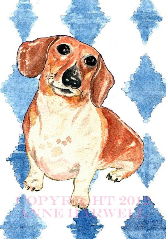 CUSTOM PET PORTRAIT On Paper