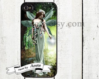 Green Fairy Phone Case for  iPhone 4 4s 5 5s 5c SE 6 6s 7  6 6s 7 Plus Galaxy s4 s5 s6 s7 Edge