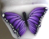 Butterfly Cane, Polymer Clay Cane, Purple Flutterbye e440