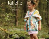 SALE - Juliette boho dress and slip sewing pattern from Violette Field Threads - sizes 2T - 9/10