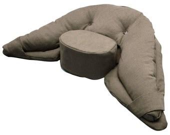 Tan Buddha Meditation Cushion  - Regular Size