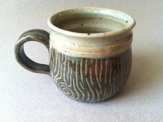 Stump Mug - Hand Thrown Stoneware