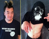 Instant Zombie Costume - Pull Your Shirt Over your Head