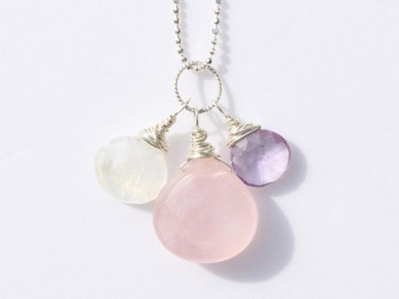 Quartz Crystal Necklace Necklace Rose Quartz