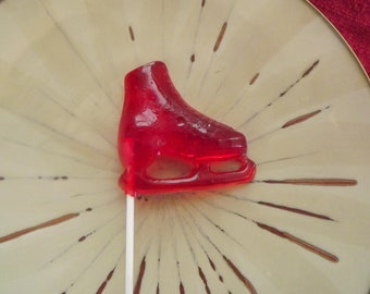 8 Ice Skate Hockey Rink Lollipop Party Favor