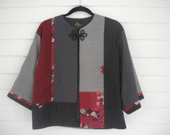 Kimono-Style Jacket, Fully Lined