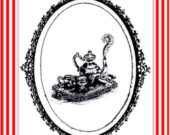 Tea Tales - 5 Postcard set