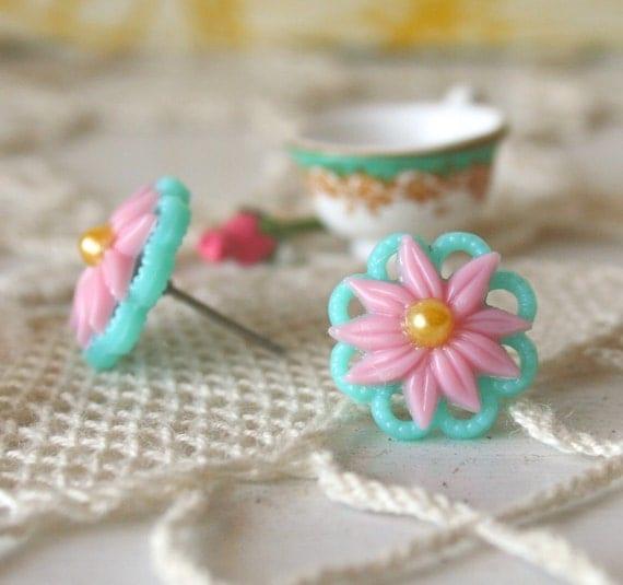Flower Ear post - Garden Medley Collection
