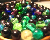 Assorted Mix of 6mm and 4mm Glass Beads
