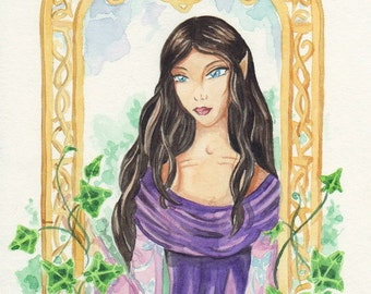 ARWEN - original fantasy art - SALE