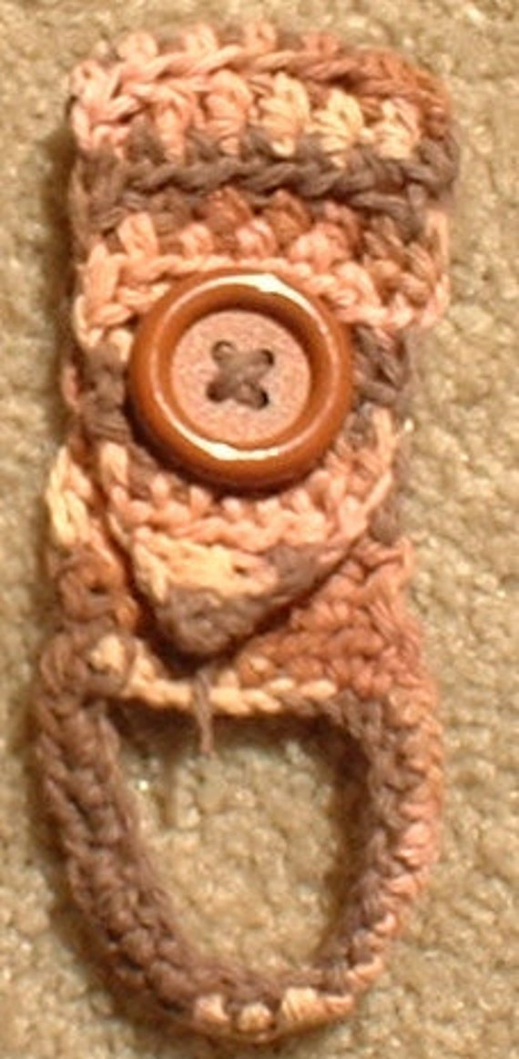 Towel Holder with Ring, Crochet