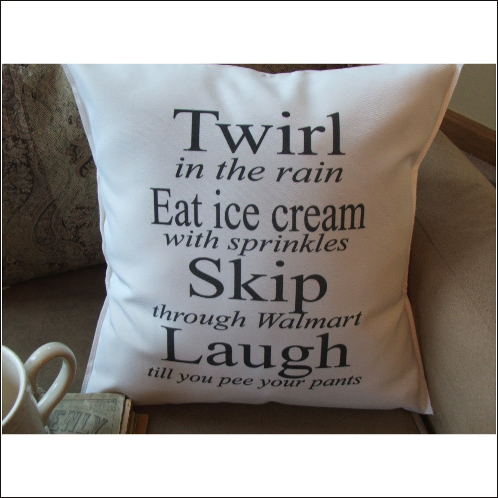 Throw Pillows With Quotes On Them : inspirational quote graphic throw pillow decorative throw
