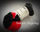 "KUAS Yarns: Silk/merino Blend Fingering Weight Yarn--""Twilight"""