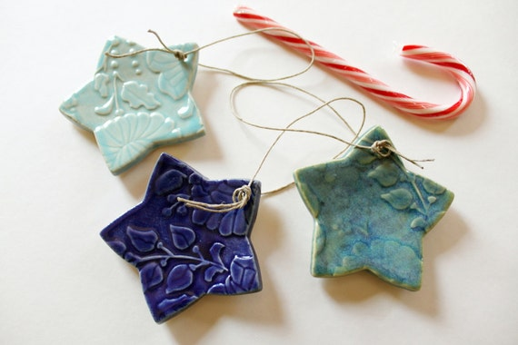 Hanging Stars //  Multi Colored // Great for the Holidays