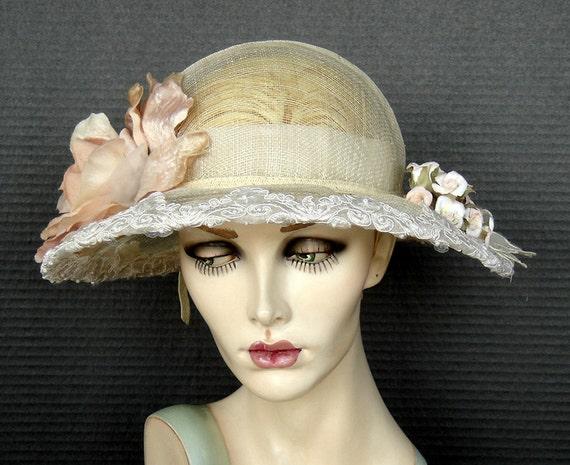 Sinamay Summer Hat