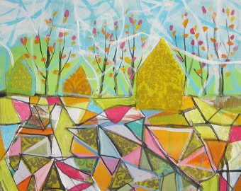 Spring...ORIGINAL PAINTING by Michelle Daisley Moffitt