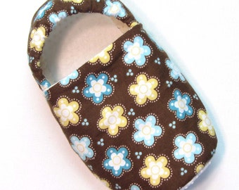 Chocolate Flowers Slippers Child S