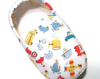 Transportation Slippers Child L