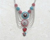 Tribes and Myths Necklace - Tribal Jewelry