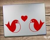 Love Bird Laptop Decals