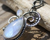Etheric Inspiration - Sterling Silver Necklace