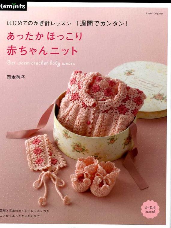 Get Warm Crochet Baby Wears - Japanese Craft Book