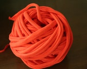 Thinking of Fall Orange 100% Cotton T-Shirt Yarn 23.5 Yards