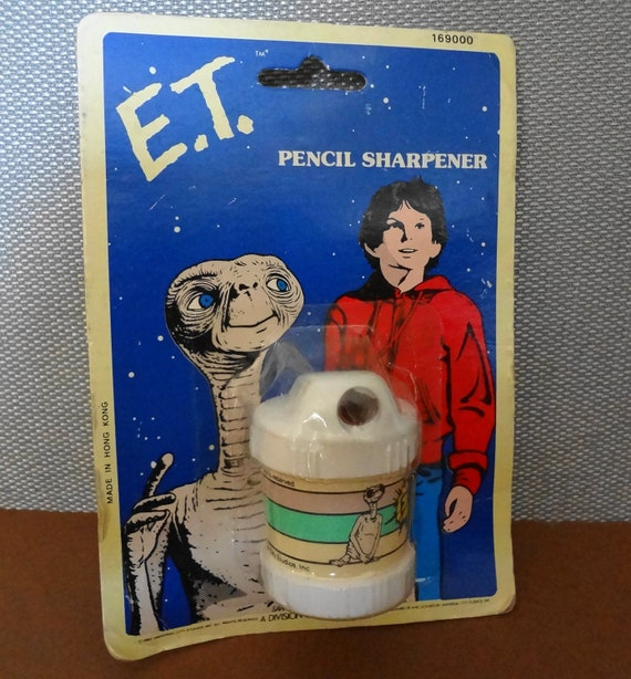 E. T. Pencil Sharpener 1982 unopened rare