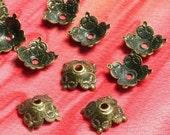 Antique brass bead cap 6mm, 36 pcs (item ID YWXH00822AB)