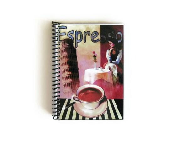 Notebook Spiral Bound: Caffe Espresso (4 x 6)