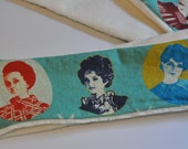 Retro Ladies Faces Scarf- Reserved