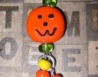 Halloween Necklace Jack O' Lantern Necklace Halloween Jewelry Charm Pendant JOL Jewelry Pumpkin Costume Accessory Free Shipping USA/Canada