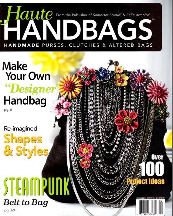 FREE SHIPPING Haute Handbags Magazine Spring 2010