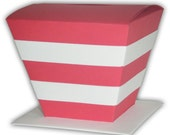 Striped Cat Hat Gift Box Favors (custom colors available)