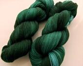 ENVIOUS-Green Merino Cashmere Nylon Sock