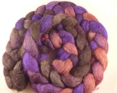 Black grapes  in a Mixed BFL-Tussah Bunch -- 4 ounces