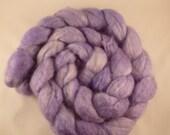 Lavendar Herbal -- soft purple on BFL -- 4 ounces