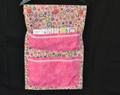 Wall hanging organizer (design and pink theme)