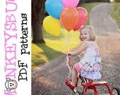 Tea Party Pinafore Dress PDF eBook Pattern INSTANT DOWNLOAD
