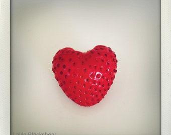 Strawberry Love - Polaroid Photograph