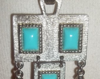 Fun Sarah Coventry INDIAN Inspired Dangly Pendant Necklace