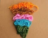 Soutache trim, 5 colors for jewelry making