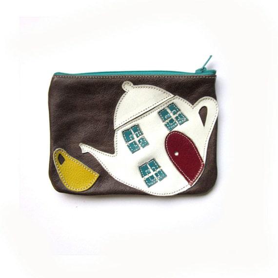 SALE- Teapot purse- 30% OFF