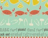 1 Fat Quarter  Crabtastic Picnic  1.25 Special